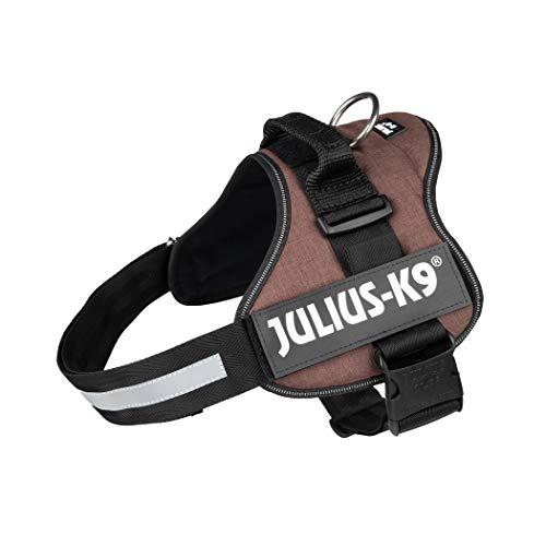 Julius-K9 Pettorina K9, Taglia L/1, Mocca - Tela di Sacco - 340 g