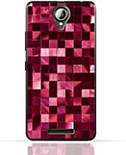 Lenovo A5000 TPU Silicone Case With Glamour Disco Squares Design