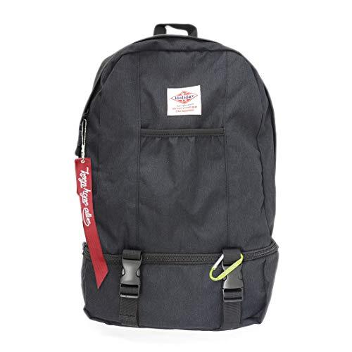 [ホリデーエーエム] リュック リュックサック バッグ デイパック メンズ レディース 2層式 ジムリュック KB109-BK ブラック One Size