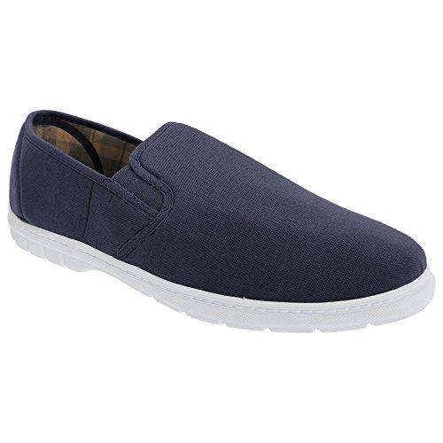 Gordini Scimitar Herren Textil Freizeit Slippers (45,5 EU) (Marineblau Denim)