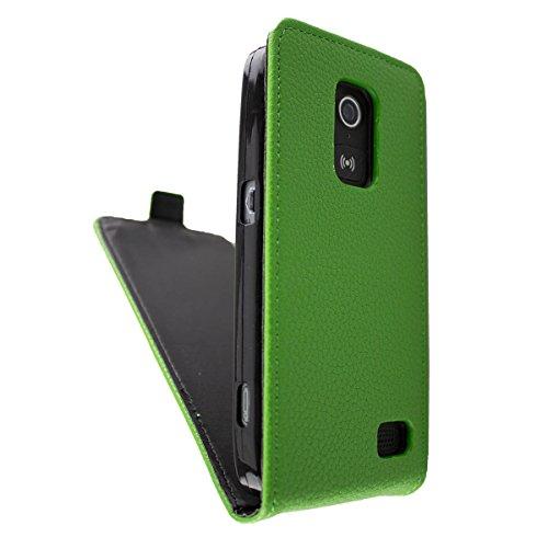 caseroxx Flip Cover für Doro 8030/8031, Tasche (Flip Cover in grün)