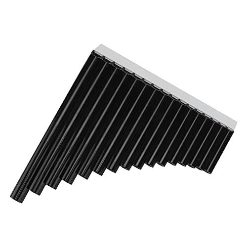 Flauta de pan, instrumento de viento tradicional para niños 16 pipas para principiantes para adultos para personal docente(negro)