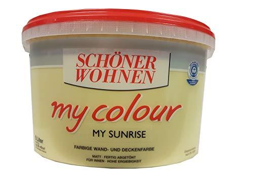 5 L Schöner Wohnen my Color, Wandfarbe, Sunrise Matt