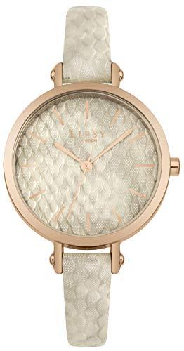 Lipsy Damen Analog Quarz Uhr mit PU Armband LP591