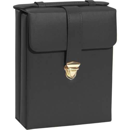 Hot Sale Royce Leather Ladies' Pocketbook Jewelry Case (Black)