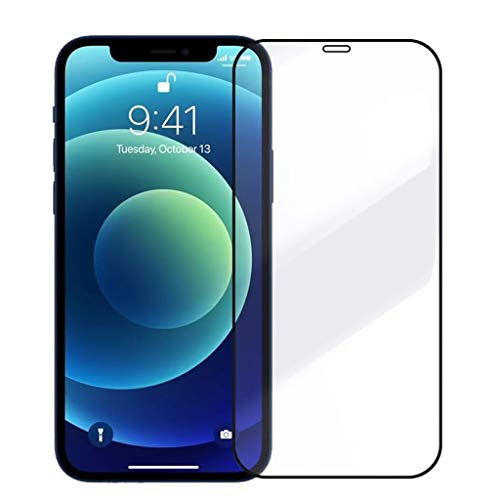 liutao Screen Protector 3D Protective Glass Compatible with iPhone 7 8 XR Xs Max on iPhone 11 12 Pro Max Screen Protector Full Cover Glass Compatible With iPhone 12 Mini Tempered Film