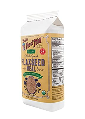Bob's Red Mill Whole Ground Flaxseed Meal Organic - 16 oz