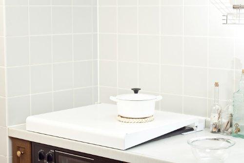 池永鉄工『システムキッチン用 コンロカバー(IK2-60W)』