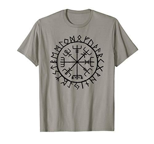 Nordische Mythologie Wikinger Runen Schutz Symbol T-Shirt
