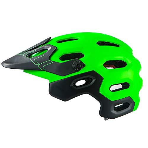 DHGLRHSLDNJ Casco Nuevo Casco de Bicicleta Am/XC Off-Road All-terrai MTB Cycling Bike...