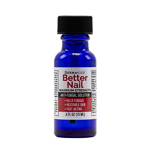 Better Nail - Maximum Strength 25% Solution for Anti Fungal Nail Support | Nail Restoring Solution for Toenail & Fingernail Fungus | .5oz or 15ml