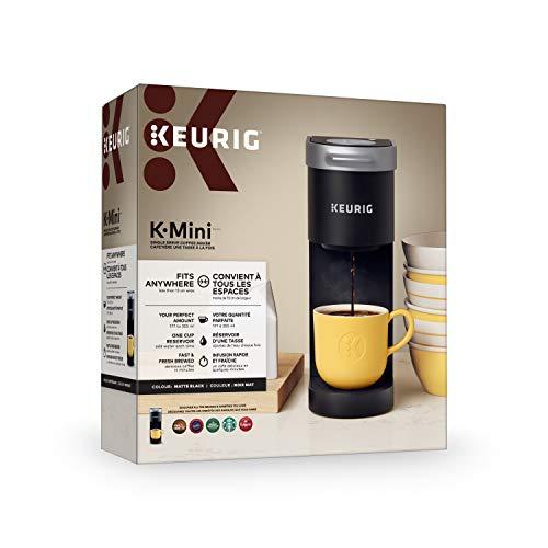 Cafetière K-Mini Keurig, Noir Mat, Modèle 611247373590 - 3