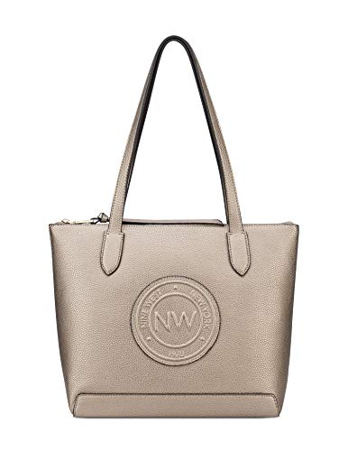 Nine West Tote, Dusty Bronze