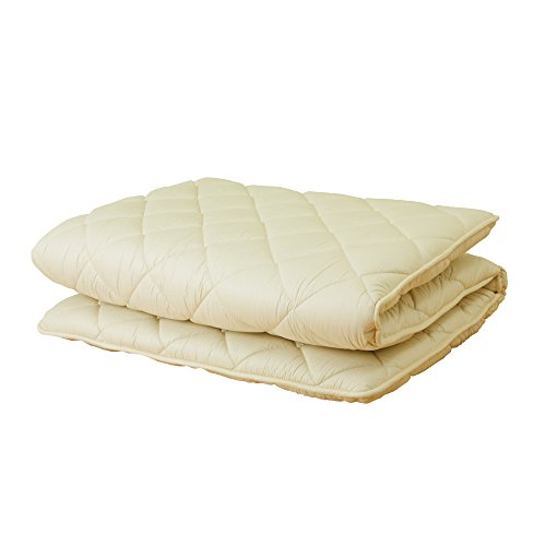 APHRODITA(アプロディーテ) 寧々(NENE) 敷き布団 シングル 防ダニ 軽量タイプ 綿100% 日本製 (100×210cm) コンパクト梱包