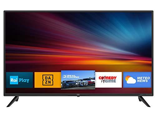 """Televisor Trevi LTV 4008 Smart TV 40"""" con decodificador Digital DVBT-T2 y satélite DVBS-S2, Sistema operativo Android, resolución 1920 x 1080 PPP Full HD"""