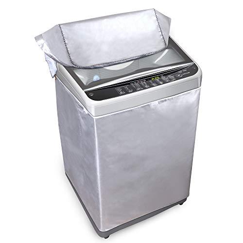 Supreme Covers Cubierta portátil para lavadora para máquinas de carga superior – XXL, 62 x 64 x 98 cm – Poliéster Oxford duradero – Fundas de lavadora y secadora para...