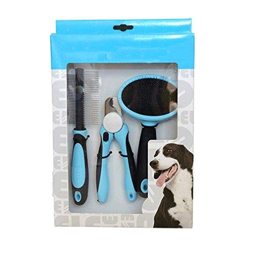 TY/Haustier Henna Kämme   Nagelknipser   Doppelte Nadel kämmt Schönheitssatz-Hundebedarf