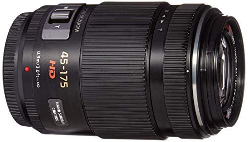 PANASONIC LUMIX G X Vario Power Zoom Lens, 45-175MM, F4.0-5.6 ASPH, MIRRORLESS Micro Four Thirds, Power Optical I.S, H-PS45175K (USA Black) (Renewed)
