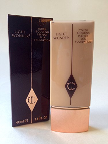 Charlotte Tilbury Light Wonder Youth-Boosting Perfect Skin Foundation - 04 Fair - 1.4 Oz Full Size by CHARLOTTE TILBURY