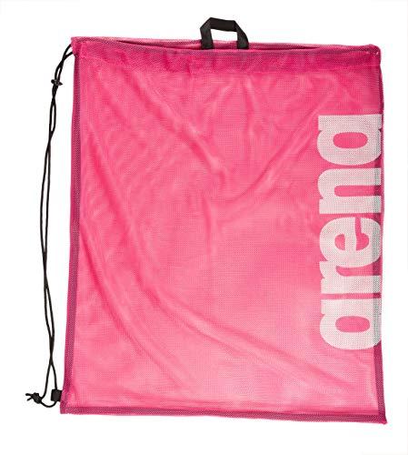 ARENA Unisex – Erwachsene Mesh Schwimmbeutel Turnbeutel Team, pink, one Size
