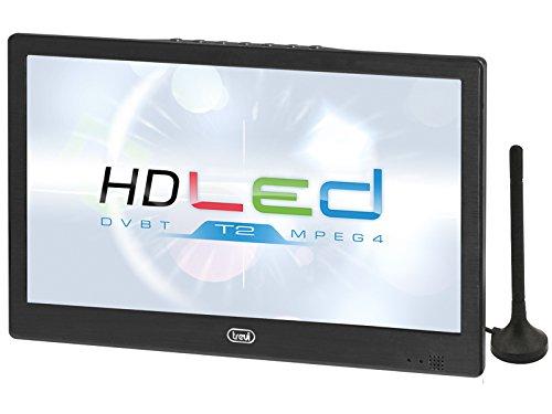 LTV 2010 - TV LED HD portátil de 10 pulgadas, color negro: Amazon.es: Electrónica