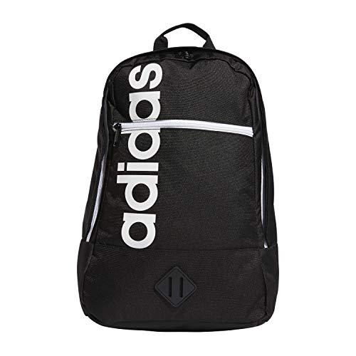 adidas Unisex Court Lite Backpack, Black/White, ONE SIZE