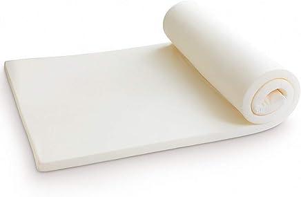 GENERAL ARMOR Memory Foam Mattress Topper with Washable Cover,  2-Inch,  2-Year Warranty (Memory Foam,  Twin XL)