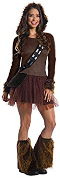 Rubie s Women s Standard Star Wars Classic Chewbacca as as Shown Small
