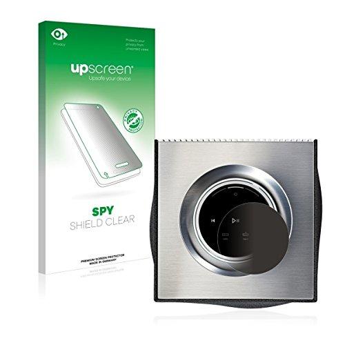 upscreen Spy Shield Clear Blickschutzfolie / Privacy für Naim Mu-so Qb (Sichtschutz ab 30°, Kratzschutz, selbstklebend)