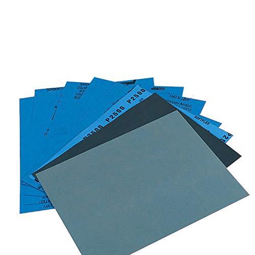 Ogquaton Grano 1500 2000 2500 3000 5000 7000 Pulido de Alta precisión Lijado de Papel de Lija abrasivo húmedo/seco - Alemania, Paquete de 12