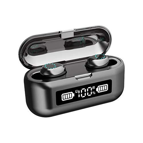 ZUHANGMENG - Auriculares inalámbricos Bluetooth con funda
