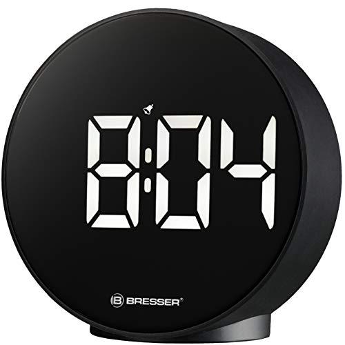 Bresser Wecker MyTime Echo FXR mit Temperaturanzeige, schwarz