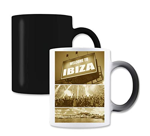 Welcome to Ibiza Party magische kleur de thee-koffiemok verandert