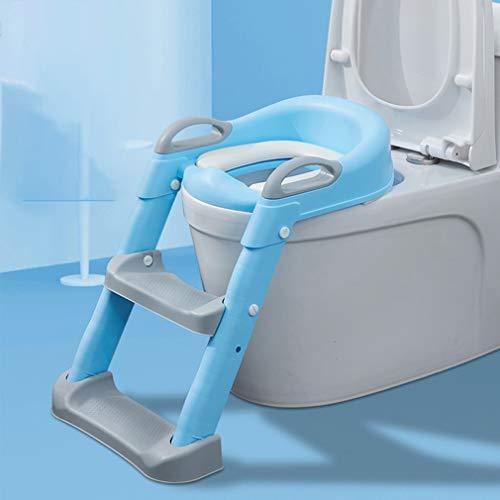 Escalera Aseo, Ajuste Flexible de Anti-salpicar orina de diseño, Estable Antideslizante, Aseo...