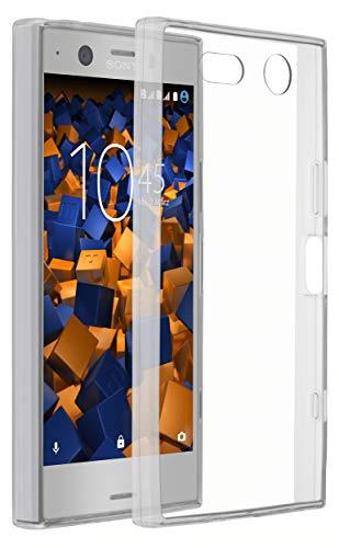 mumbi Hülle kompatibel mit Sony Xperia XZ1 Compact Handy Hülle Handyhülle dünn, transparent