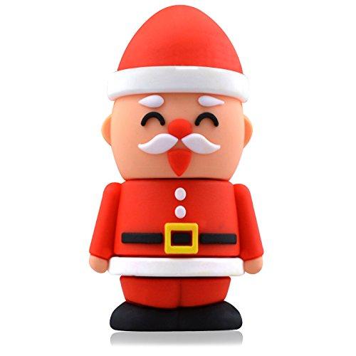 818-Shop No4400030002 USB-Sticks (2 GB) Nikolaus Weihnachten Nussknacker rot