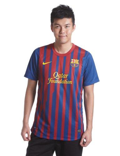 Nike Herren FCB Barcelona Home Jersey Top Blau