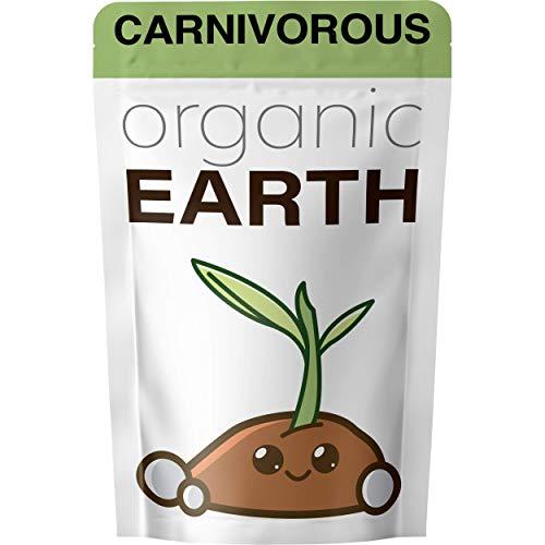 Organic Earth - Carnivorous Plant Soil Mix [1 qt] – Organic Soil...
