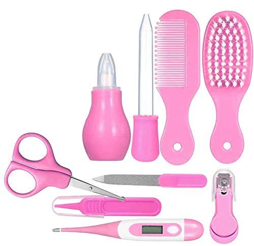 Joyeee Kosmetiktasche für Babys, mit Werkzeug, für die Pflege des Babys, zur Geburt, Set für Babypflege, Neugeborene, Baby, Haarnägel, Gesundheitspflege, für die Fellpflege