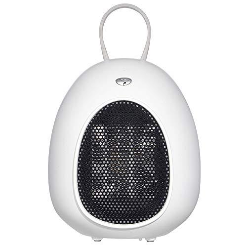 Calentador De Escritorio - Mini Calentador De Espacio De Aceite De 500 W Para Oficina, Calentador De Radiador Lleno De Aceite Con Termostato Ajustable, Protección Contra Sobrecalent(Color:blanco)