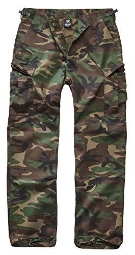 Brandit BDU Ripstop Trouser Cargohose, Woodland, Größe 7XL