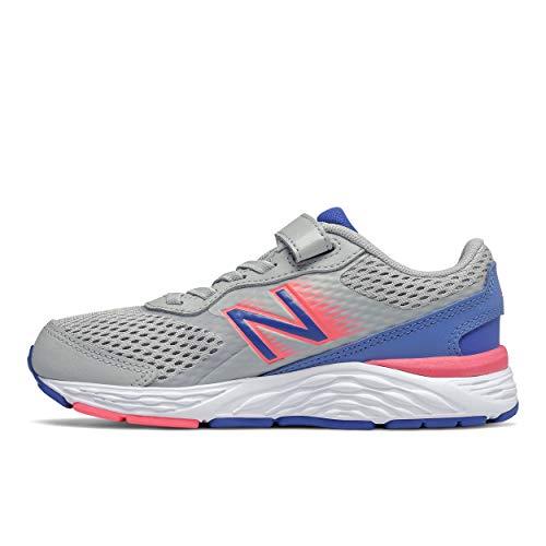 New Balance Zapatillas de correr para niños 680 V6 con cierre alternativo,...