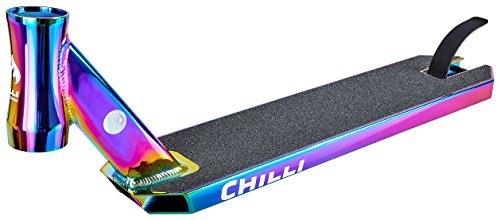 Chilli Pro Scooter Reaper Deck - Tabla de aparcamiento (50 cm, neocromo)