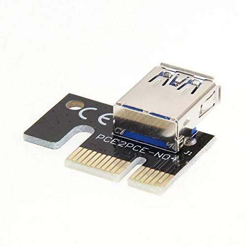Mini USB3.0 tarjeta gráfica tarjeta Riser PCI-E 1X a 16X minería extensión adaptador minero extensión Accesorios minería