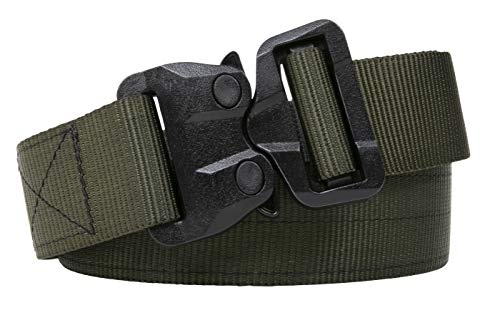 Klik Belts Tactical Belt With TSA Approved Nylon Cobra Buckle - Never Have To Remove Your Belt At Security Again - Unisex