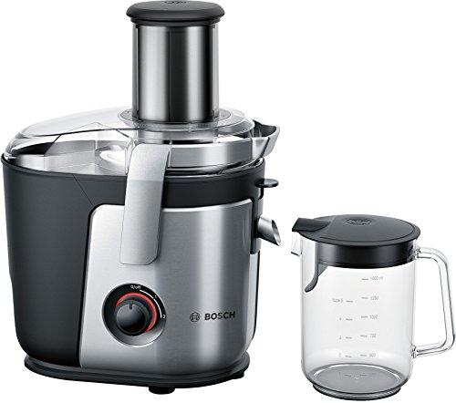 Bosch MES4000GB Licuadora, 1000 W, Aluminio, 2 Velocidades, Negro, Plata