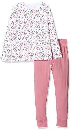 NAME IT Mädchen 13173282 Zweiteiliger Schlafanzug, Mehrfarbig(Heather RoseHeather Rose), 146 (Herstellergröße: 146-152)