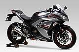 ヨシムラ スリップオン Ninja250[ABS]/Z250 (-15) R-11サイクロン 政府認証 1エンド EXPORT SPEC チタンブルー YOSHIMURA 110-227-5E80B
