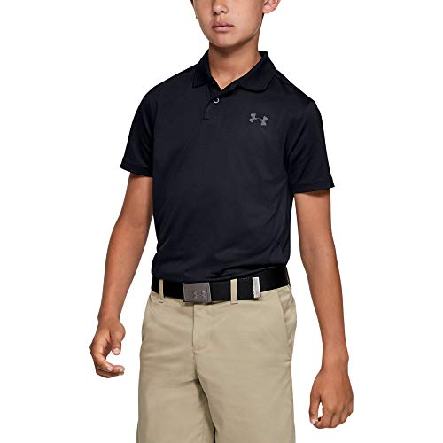Under Armour Kinder Performance 2.0 Poloshirt, Schwarz, YSM