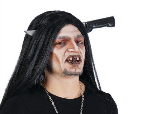Guirca SL. Couteau qui trapassa la tête, noir et gris, taille unique, 16815